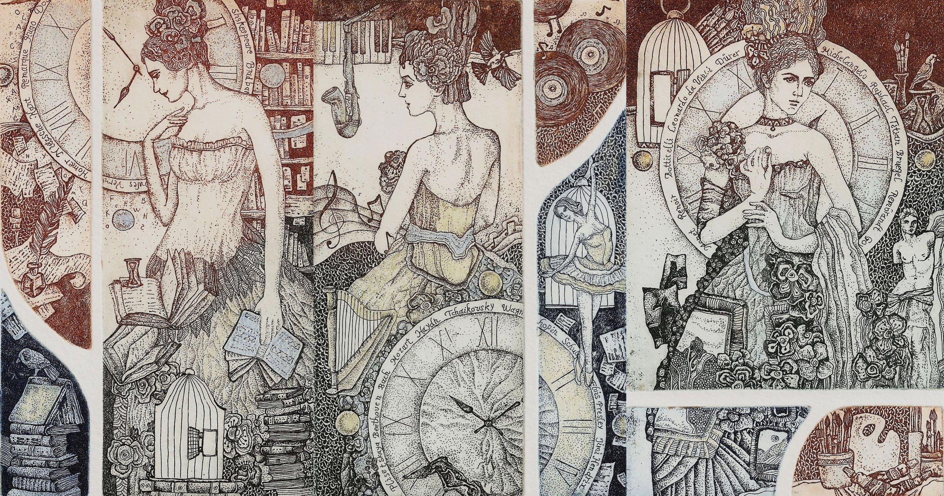 Melnikova Anastasia - Triptych: The Transience of Time